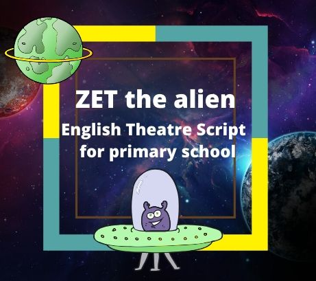 "Сценарий на английском языке ""Zet the Alien"""