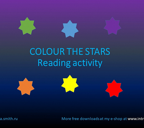 Colour the Stars Activity
